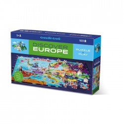 Puzzle odkrywcy - Europa...