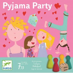 Gra PIŻAMA PARTY Djeco